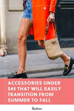 Here, find 20 accessories under-$45 that you can wear through the end of summer...and well into September, October and November. #accessories #cheap #style End Of Summer, Autumn Summer, Big Night Out, Short Summer Dresses, Retail Therapy, Ankle Strap Sandals, Girls Best Friend, Messenger Bag, Purses And Bags