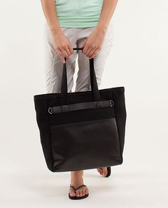 Gym Bag: Urban Oasis Tote, $138 at lulu lemon