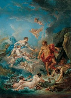 Juno Asking Aeolus to Release the Winds, François Boucher, 1769