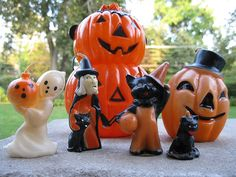 Gurley candles - vintage Halloween