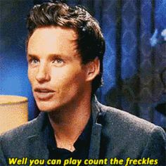 When he owned his adorable ginger-ness. | Community Post: 17 Times Eddie Redmayne Was Bae