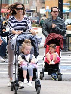 Sarah Jessica Parker twins strollers