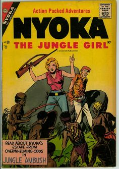 Nyoka the Jungle Girl 20 (G+ 2.5)