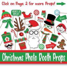 Naughty Christmas, Merry Christmas Sign, Christmas Banners, Christmas Items, Christmas Photos, Christmas Fun, Christmas Bingo Printable, Printable Banner, Christmas Photo Booth Props