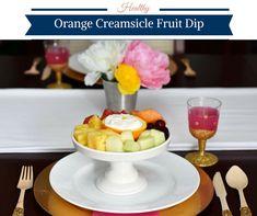 Healthy Orange Creamsicle Fruit Dip - Powered by @ultimaterecipe