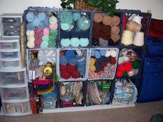 Yarn stash solution