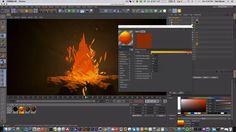 Mograph Mondays November 2015 - Dan Maurer - C4D Low Poly fire on Vimeo