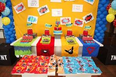 Super Heroe Party - The Mission | CatchMyParty.com