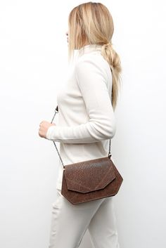 Leather bag - Made in Belgium - 149.00 - http://www.mayenne-nelen.com/product/jade-brown?ref=category-own-collection-women