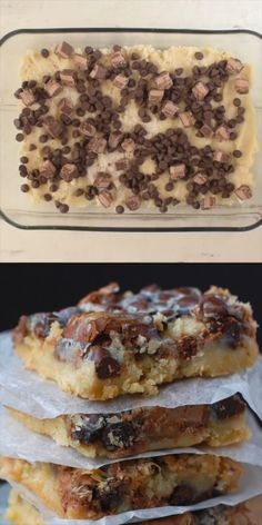 These simple magic bars are so easy to make and absolutely irresistible! These simple magic bars are so easy to make and absolutely irresistible! Candy Recipes, Baking Recipes, Sweet Recipes, Cookie Recipes, Bar Recipes, Cream Recipes, Recipies, Healthy Recipes, Cake Bars