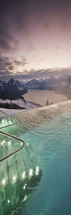 Hotel Villa in Honegg in Switzerland~this is actually beautiful