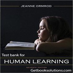 Test bank for Human Learning, Pearson eText with Loose-Leaf Version Access Card Package 7th Edition