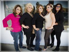 all the team of kairos beauty salon