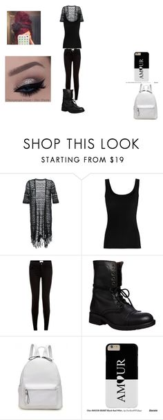 """Untitled #317"" by emmi-princess on Polyvore featuring Guild Prime, Twenty, New Look and Steve Madden"