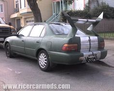 Bad worst funny or ugly ricer car mod body kit rod fail