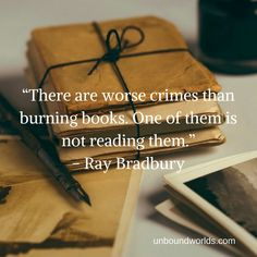 5 Canny Quotes From Ray Bradbury If only people would read more, people would be more empathetic to today's world.