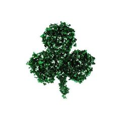 St. Patrick's Day Shamrock Wreath ($15) ❤ liked on Polyvore featuring home, home decor, holiday decorations, themes / st pats, artificial flowers, decorative accents, floral wreath, green leaf wreath, flower stem and leaf wreath