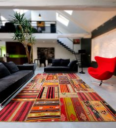 Collections tapis contemporains Ethnic