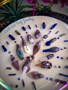 Handmade clay crystal healing pendants by Earth and Surf Jewelry/ Jewellery/ Necklaces/ Pendants/ Clay Pendants/ Original Gemstone Jewelry/ Handmade Polymer Clay Crystal Pendants/ Boho/ Hippie/ Mystic/ Metaphysical/ New Age/ Crystal Healing Jewelry/Mystical Jewellery/ Beach and Tropical Beaded Necklaces/ Bracelets/ Surf beads/ Tribal Jewelry #crystalpendants/ #polymerclaypendants/ #healingcrystaljewelry/ #healingstones/ #claypendant #healingjewelry #earthandsurfjewelry