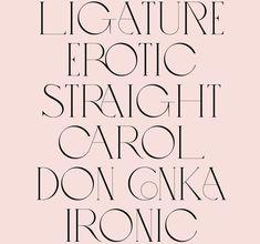 Love - VJ-TYPE, modern typography and minimalist layout, feminine colors, sleek and fine modern type.