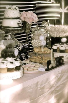 Coco Chanel/Parisian Birthday Party Ideas   Photo 10 of 13   Catch My Party