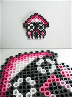 Super Mario 3 Bloober bead sprite by on DeviantArt Hama Beads Mario, Perler Beads, Fuse Beads, Pixel Art, Pearler Bead Patterns, Perler Patterns, 8bit Art, Iron Beads, Melting Beads