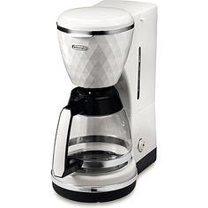 DELONGHI Brillante coffee filter (White  #wedding #weddingift #luxuryweddinggift #luxurygift #luxury