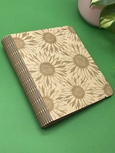 A5 Ring binder sunflower notebook A5 Ring Binder, Etsy Handmade, Handmade Gifts, Notebook, Community, Create, Rings, Kid Craft Gifts, Craft Gifts