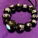 Black Panther Kimoyo Bead Bracelet With Light Up Prime Bead Jalapeno Chili, Movie Black, African Tribes, Silver Paint, Using Acrylic Paint, Permanent Marker, Diffused Light, Paint Markers, Black Panther
