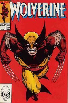 John Bryne cover Wolverine #17