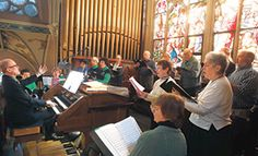 Catholic Herald Online - Renovated organ puts songs into hearts, St. Patrick Day Mass