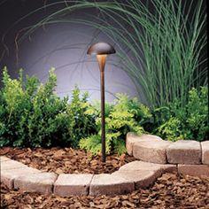 Eclipse Textured Tannery Bronze Path Light