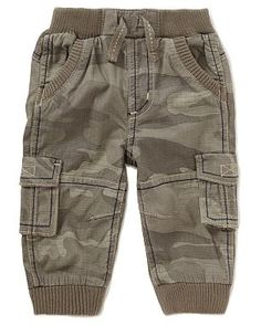 Camouflage Print Baby Trousers