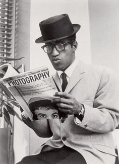 Sammy Davis Jr. in a Pork Pie