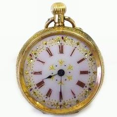 Superb 14ct gold antique pocket watch