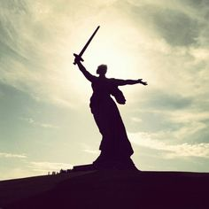 The Motherland Calls (Russian: Родина-мать зовёт! Rodina-Mat' zovyot!), also called Mother Motherland, Mother Motherland Is Calling, simply The Motherland, or The Mamayev Monument, is a statue in Mamayev Kurgan in Volgograd, Russia, commemorating the Battle of Stalingrad. It was designed by sculptor Yevgeny Vuchetich and structural engineer Nikolai Nikitin. Declared the largest statue in the world in 1967, it is the last non-religious statue to be declared the largest; every record holder…