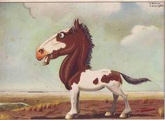 Biblioteca Pedagógica N° 1: En el mes de la Tradición... Moose Art, Horses, Cartoon, Deco, Animals, Vintage, David, Kids, Drawings