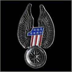 Biker motorcycle Pins