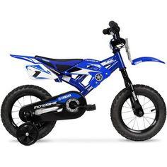 "12"" Yamaha Moto Child's BMX Bike - Walmart.com"