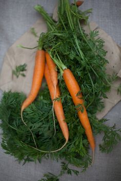 Carrots are rich in dietary fibre, antioxidants and minerals.