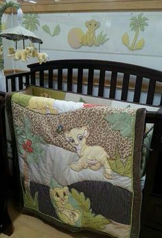 Lion king nursery - I want the blanket
