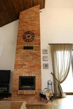 Decor, House, Brick Design, Home Decor, House Interior, Oven Fireplace, Home Interior Design, Interior Design, Fireplace