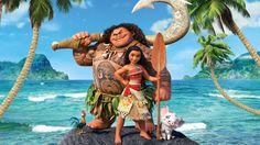 Moana Disney Movie 2016 Animation Characters Wallpaper