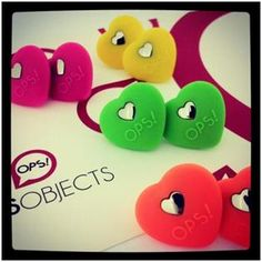 Beat Earrings: OPS lancia la collezione di orecchini a forma di cuore!