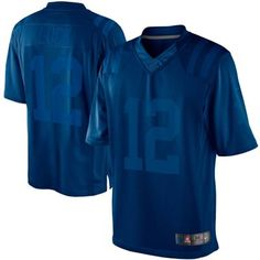 Nike Andrew Luck Indianapolis Colts Drenched Limited Jersey - Royal Blue
