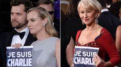 #JeSuisCharlie: Stars support victims of Paris attacks at Golden Globes - TODAY.com