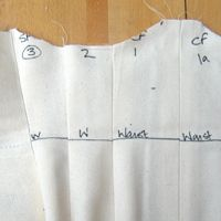 """Make a corset toile -- perfect the fit with """"test"""" fabric"""