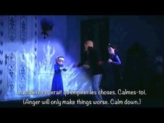 Do You Want To Build a Snowman? (Canadian French) (w/ subtitles and translation)... ///Hah, thought this song wouldn't get any sadder?....