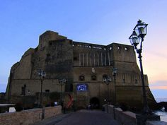 Castel dell'Ovo in Naples, Italy  from http://www.nonstopfromjfk.com