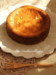 アップルチーズケーキ http://www.morinagamilk.co.jp/recipe/detail/recipe.php?id=207